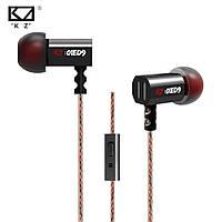 Вакуумные наушники KZ ED9, внутриканальные, с микрофоном, Knowledge Zenith