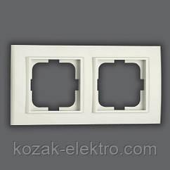MINA Рамка 2-ая цвет белый