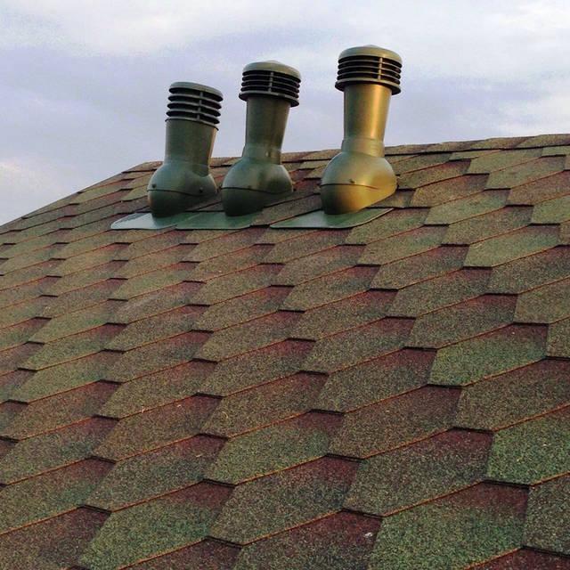 Вентиляционные дефлекторы для вентиляции каркасного дома.