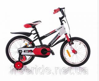 Детский Велосипед Azimut Stitch 16 бело-красный