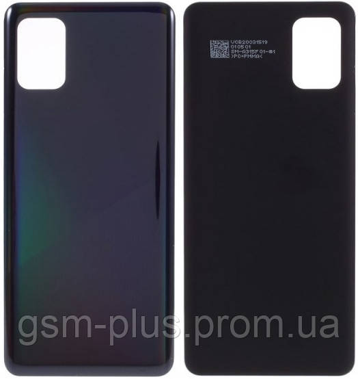 Задняя часть корпуса Samsung Galaxy A31 2020 SM-A315 Black