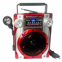 Радиоприемник c фонарем NEW KANON KN-52REC,музыка,радиоприемник