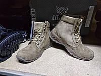 Ботинки зима,нубук, натуральный мех Тактические,армейские., фото 1