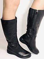 Molka. Зимние сапоги на широкую ногу на натуральном меху из  натуральной кожи.  Р. 36.37.38., фото 2