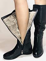 Molka. Зимние сапоги на широкую ногу на натуральном меху из  натуральной кожи.  Р. 36.37.38., фото 10
