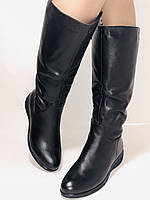 Molka. Зимние сапоги на широкую ногу на натуральном меху из  натуральной кожи.  Р. 36.37.38., фото 4