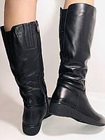 Molka. Зимние сапоги на широкую ногу на натуральном меху из  натуральной кожи.  Р. 36.37.38., фото 7