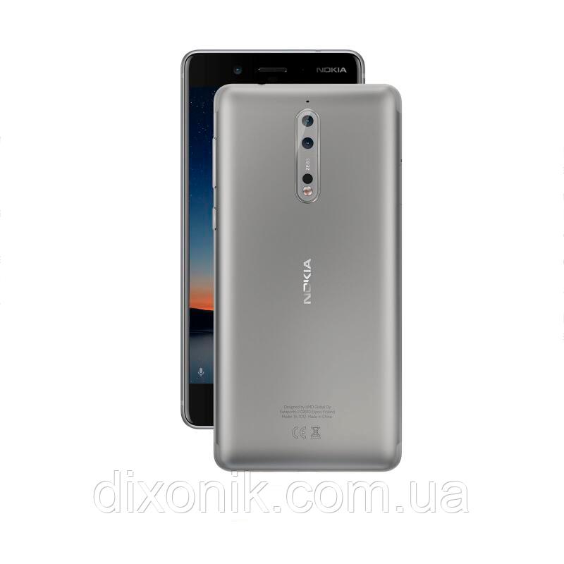 Смартфон Nokia 8 TA-1004 4/64Gb silver