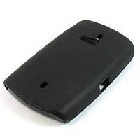 Чохол-накладка для Sony Ericsson WT19i, силіконовий, чорний /case/кейс /соні еріксон