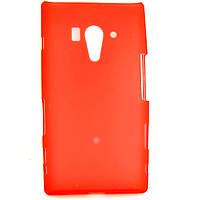 Чохол-накладка для Sony Xperia Acro S, LT26w, силіконовий, червоний /case/кейс /соні