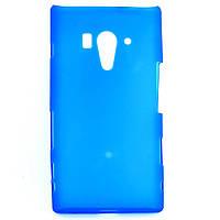 Чохол-накладка для Sony Xperia Acro S, LT26w, силіконовий синій /case/кейс /соні