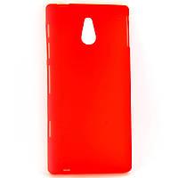 Чохол-накладка для Sony Xperia P LT22i, силіконовий, червоний /case/кейс /соні