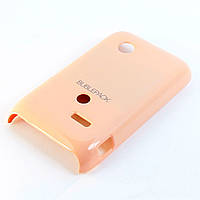 Чехол-накладка для Sony Xperia Tipo, ST21i, пластиковый, Buble Pack, Розовый /case/кейс /сони