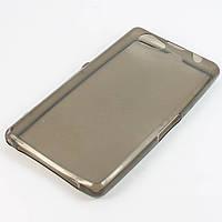 Чохол-накладка для Sony Xperia Z1 Compact D5503, Sony Xperia Z1 Compact D5502, ультратонкий силіконовий, Чорний /case/кейс /соні