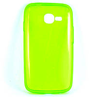 Чехол-накладка для Samsung Galaxy Trend S7390, S7392, ультратонкий силиконовый, Лайм /case/кейс /самсунг галакси