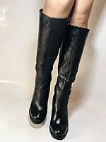 Erisses. Зимние сапоги на натуральном меху на каблуке. Натуральная кожа. Люкс качество.  Р 36., фото 4