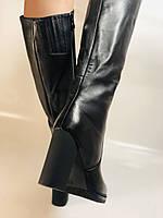 Erisses. Зимние сапоги на натуральном меху на каблуке. Натуральная кожа. Люкс качество.  Р 36., фото 9