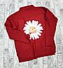 Женский свитер с крупной ромашкой 42-46 (в расцветках), фото 4