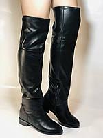 Натуральне хутро. Зимові чоботи-ботфорти на низькому каблуці. Натуральна шкіра. Люкс. Berkonty. Р. 36,39,40., фото 10