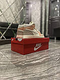 Женские кроссовки  Nike Air Jordan 1 Beige Grey., фото 2