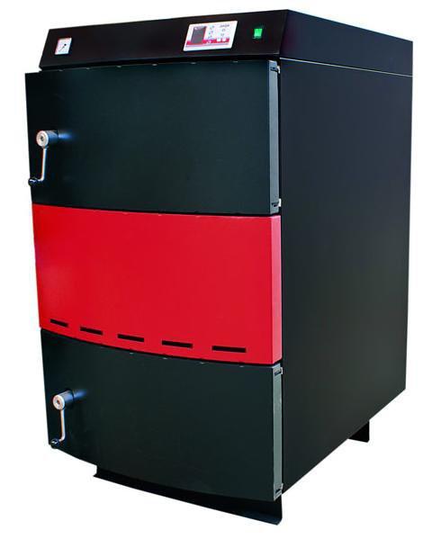 Пиролизный газоненераторный котел на твердом топливе Opop Ecomax 35 - котел на дровах