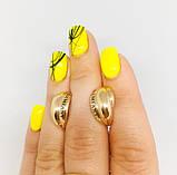 Сережки у золоті 585 проби під бренд DAMIANY, фото 5