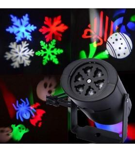 Уличный новогодний проектор LED GOBO LIGHT - 2 слайда