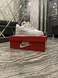 Женские кроссовки Nike Air Force 1 Low White Beige., фото 2
