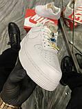 Женские кроссовки Nike Air Force 1 Low White Beige., фото 4