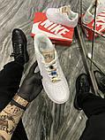 Женские кроссовки Nike Air Force 1 Low White Beige., фото 5