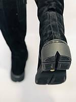 Gotti.Натуральне хутро. Зимові чоботи на платформі. Натуральна замша. Люкс якість. Р. 38.39., фото 5