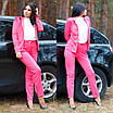 Женский классический брючный костюм в ярких цветах, фото 6