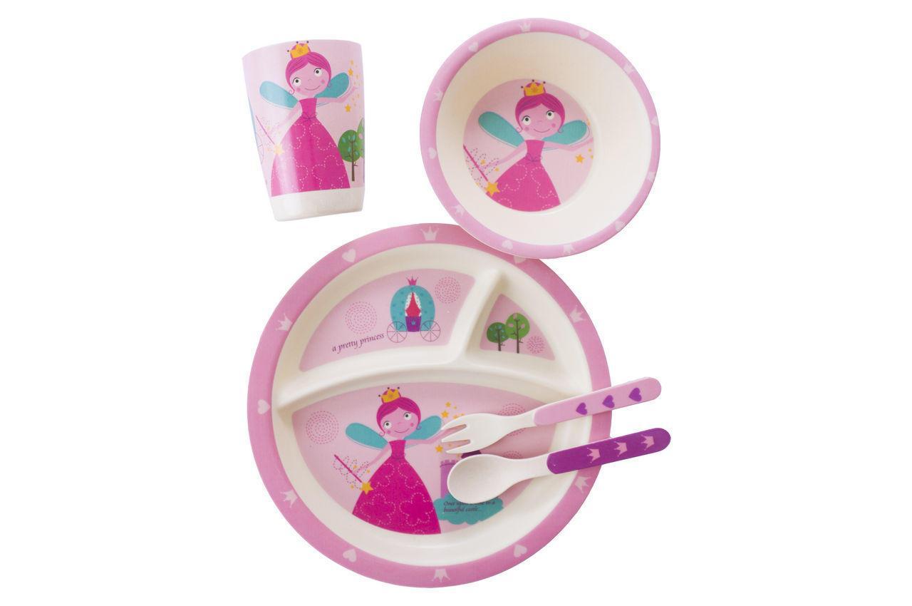Набор посуды бамбуковый Elite - фея 5 ед. (El-246-43)