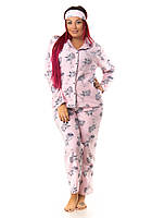 Женская пижама на пуговицах (домашний костюм) Турция, фото 1