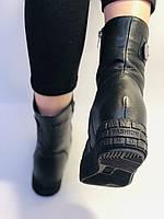 Туреччина. Натуральне хутро. Зимові черевики. Натуральна шкіра Alvito. Р. 38, фото 9