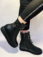 Туреччина. Натуральне хутро. Зимові черевики. Натуральна шкіра Alvito. Р. 38, фото 3