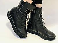 Туреччина. Натуральне хутро. Зимові черевики. Натуральна шкіра Alvito. Р. 38, фото 4