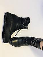Туреччина. Натуральне хутро. Зимові черевики. Натуральна шкіра Alvito. Р. 38, фото 10
