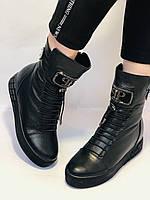 Туреччина. Натуральне хутро. Зимові черевики. Натуральна шкіра Alvito. Р. 38, фото 2