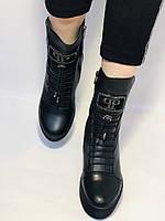 Туреччина. Натуральне хутро. Зимові черевики. Натуральна шкіра Alvito. Р. 38, фото 7