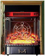 Электрокамин Bonfire Inver Brass