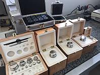 Набор калибровочных гирь  (1 мг - 100 г), класс точности F1, эталонные