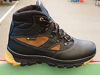 Кожаные подростковые зимние ботинки TM Walker