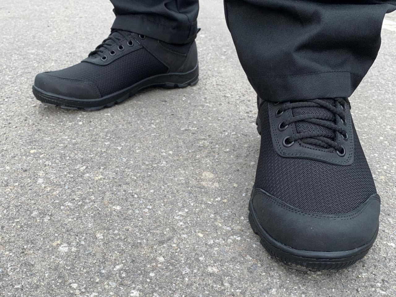 Кросівки нейлон пена чорні
