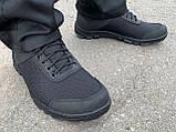 Кросівки нейлон пена чорні, фото 2