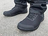 Кросівки нейлон пена чорні, фото 3