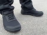 Кросівки нейлон пена чорні, фото 4