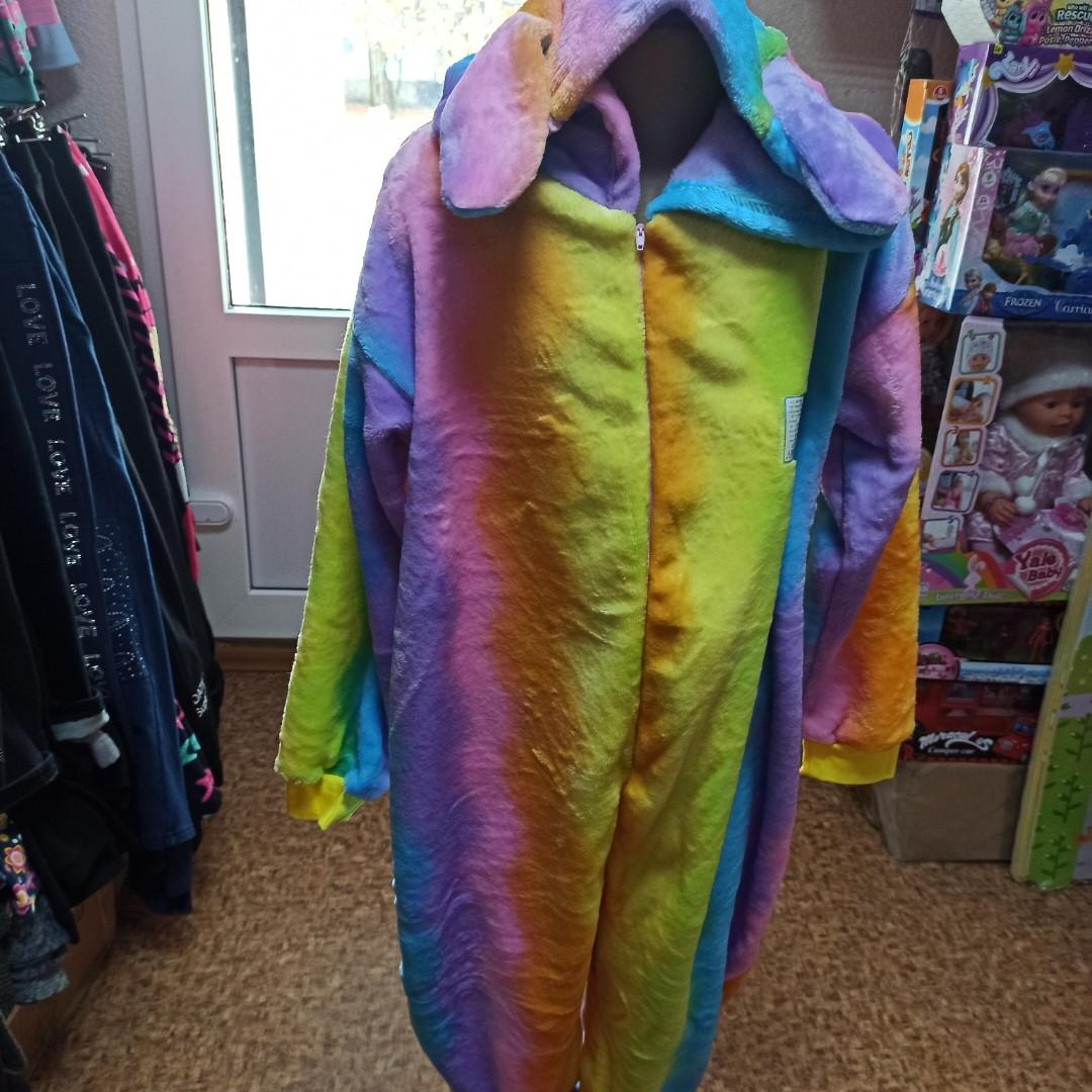 Пижама- кигуруми для детей теплое и красивое.