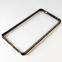 Чехол-Бампер для Samsung Galaxy Note 4, N910H, ультратонкий на защелке, алюминиевый, Fashion case, Черный /чехол/кейс/case/защита /самсунг галакси