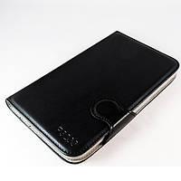 Чехол-книжка для Samsung Galaxy Tab 3 7.0, P3200, с силиконовой основой, отсеком для визиток, темно-синий /flip case/флип кейс /самсунг галакси